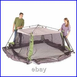 Coleman Screened Canopy Tent 15 x 13 Screened Sun Shelter with Instant Setup