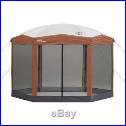 Coleman Screened Canopy Tent Gazebo Camping Shelter Screen House Shade Outdoor