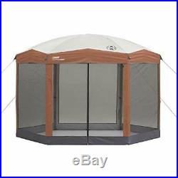 Coleman Screened Canopy Tent Instant Setup Back Home Screenhouse Camp 60 Seconds