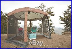 Coleman Screened Canopy Tent with Instant Setup Back Home Screenhouse Sets Up