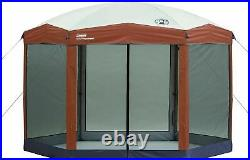 Coleman Screened Canopy Tent with Instant Setup Screen house SETUP IN 60 Second