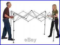 Coleman Straight Leg Instant Canopy Gazebo 7' x 5' Outdoor Garden Camping