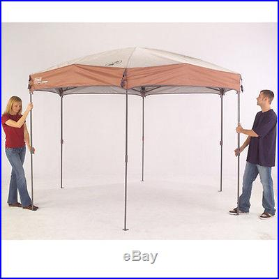 Coleman Tents 12 x 10 Screened Canopy Gazebo Instant Canopy Tent Outdoor Canopy