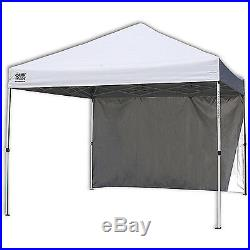 Commercial 10'x10' Straight Leg Instant Canopy Outdoor Shelter Quik Shade New