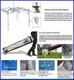 Commercial Custom Logo Printed 10x10 Pop Up Canopy Vendor Trade Show Booth Tent