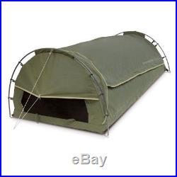Companion Rhino Bushranger 320KS King single Dome Canvas Swag green