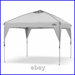 Core 10' x 10' Instant Shelter Pop-Up Canopy Tent with Wheeled Carry Bag Gray