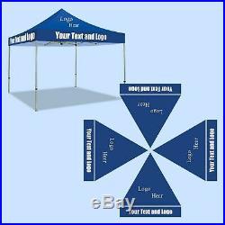 Custom EZ Pop-Up Canopy Tent, Instant Outdoor Gazebo Shelter ONLY TOPPER