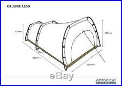Darche Calibre 1100 XL single Dome Canvas Swag