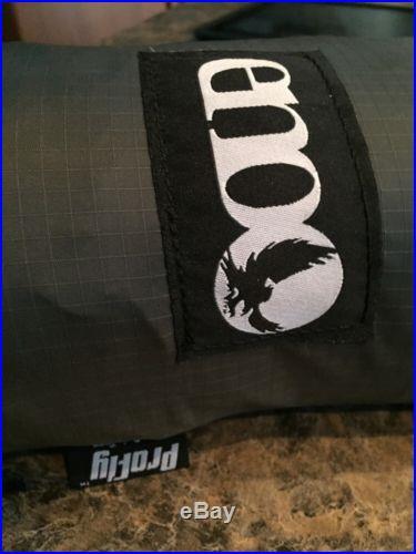 ENO Pro Fly Rain Tarp Outdoor Camping Gear Ripstop Nylon Portable Grey
