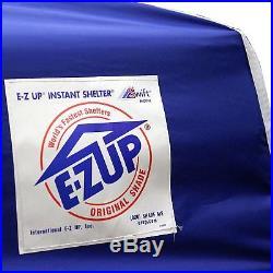 E-Z UP Swift Instant Shelter Pop-Up Canopy, 12 x 12 ft Blue