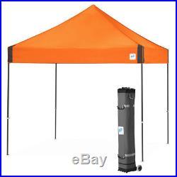 E-Z UP VG3SG10SO 10 x 10-Foot Vantage Shelter Canopy, Steel Orange/Steel Gray