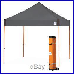 E-Z UP VG3SO10SG 10 x 10-Foot Vantage Shelter Canopy, Steel Grey/Steel Orange