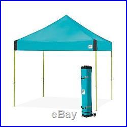E-Z UP Vantage Instant Shelter Canopy, 10 by 10ft, Splash-VG3LA10SP NEW