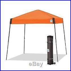 E-Z UP Vista Instant Shelter Canopy, 12 by 12ft, Steel Orange-VS3SG12SO NEW