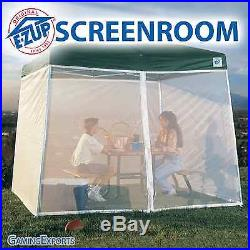 E-Z Up SCREEN ROOM for a 10'x10' Dome II or Sierra Instant Shelter NEW IN BOX