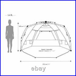Easthills Outdoors Instant Shader Enhanced Pop Up Beach Tent Instant Sun Shelter