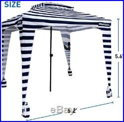 Easy Beach Sports Cabana Wind Shelter Sun Shade Summer Cool Comfortable 6' X 6