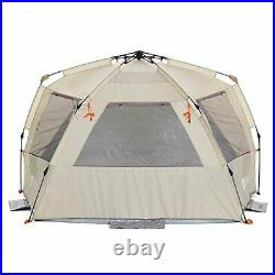 Easy Set Up 4 Person Beach Windbreaker Tent