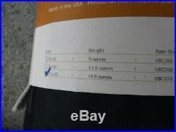 Equinox Cordura Sil Nylon Ultralight 19oz Tarp 12x10, pegs, guy & ridgeline, USA
