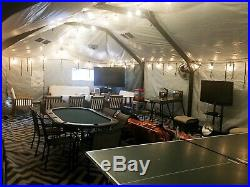 Eureka Military tent Medium 18 x 36 NEW MODEL MPGTS III Shelter, hunting
