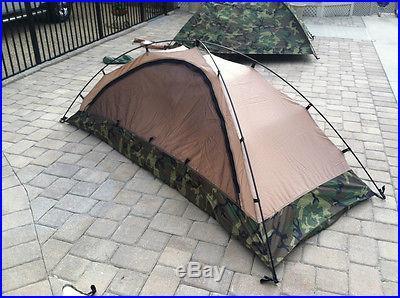 Eureka TCOP Woodland CAMO 1 Man Tent New