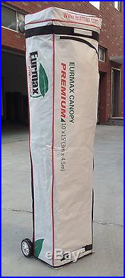 Eurmax Pop Up Canopy 10x20 Ez Pop Up Commercial Canopy Tent Gazebo Shelter Red