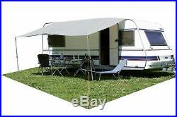 Eurotrail Universal Caravan Motorhome Sun Canopy Awning Grey 450x240 cm