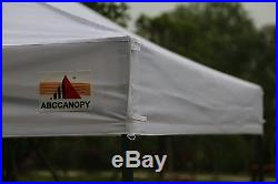 Ez Pop Up Canopy 10x10 White Commercial Instant Canopy Pop Up Tent With Roller Bag