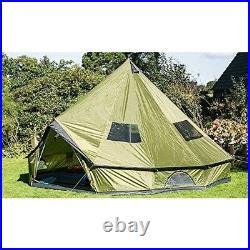 Family Tent Hunting Camp 4-Season Sleeps 10 Persons Waterproof Huge Teepee 16.4