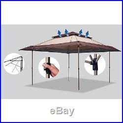 Gazebo Canopy Tent Instant Backyard Outdoor Patio Garden Pool Large 13 X 13 New