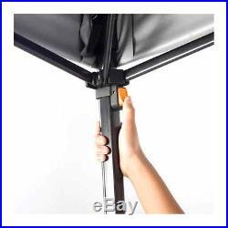 Gazebo Straight Leg Canopy Instant 10' x 10' Camping UV Protection New