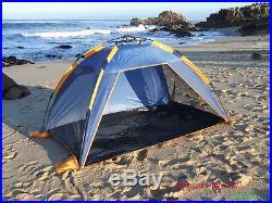 Genji Sports Push Up Instant Beach Tent