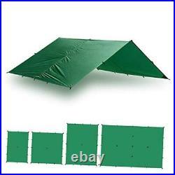 Guide Tarp 100% Waterproof Ultralight Ripstop SilNylon 20 x 13 ft Green