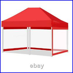 Heavy Duty Canopy Party 10x20 Outdoor Wedding Tent Gazebo with 3 Side Walls