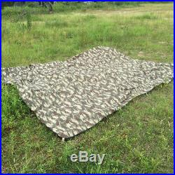 Heavy Duty Canvas Tarp Waterproof Outdoor Shelter Camping Tent Tarpaulin