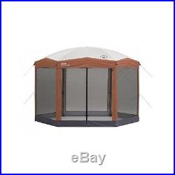 INSTANT SCREENED CANOPY TENT CAMPING SHELTER SCREEN HOUSE OUTDOOR GAZEBO 12x10