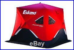 Ice Shelter Pop Up Portable Travel Eskimo Fishing Tent Outdoor Cover Trap New