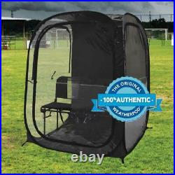 InstaPod Under the Weather Instapod Double Black Pop Up Canopy, 2 Person XXL