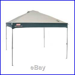 Instant Canopy Gazebo Coleman 10x10 Straight Leg Outdoor Camping Shelter Tent