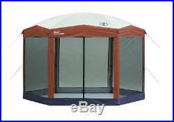 Instant Gazebo Folding Canopy Screen Coleman Camping Portable Shelter 12 x 10 Ft