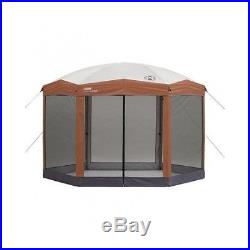 Instant Screened Canopy Outdoor Camping Gazebo Park Picnic Tent Shelter Shade