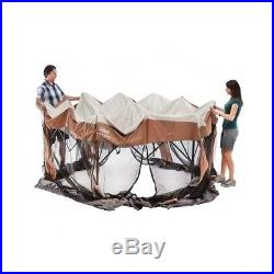 Instant Screened Canopy Tent 12 x 10 Outdoor Camping Coleman Family Shelter