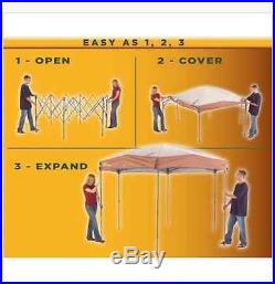 Instant Screened Tent Coleman Canopy 12 X 10 Shelter Hex Camping Shelters Picnic