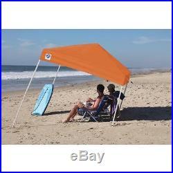 Instant Shade Canopy 8' x 8' Outdoor Sport Camping Sun Shelter Slant Leg Design