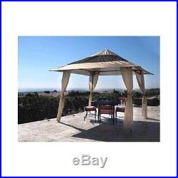 Instant Shelter Steel Canopy Sun Rain Outdoor Protection Tent Durable Polyester