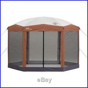 Instant Tent Canopy 12x10 Hex Screened Shelter Gazebo PartyWalls Outdoor Camping