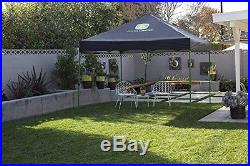 John Deere Marketplace MP100 Instant Canopy, 10 x 10-Feet, Black/Green