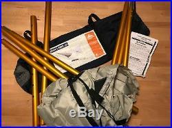 Kelty Noah's 12 Hammock Tarp + 2 Adjustable Kelty Poles Used good condition