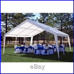 King Canopy 12 x 20 ft. Expandable Canopy 12' x 20' to 20' x 20 feet/ White NEW